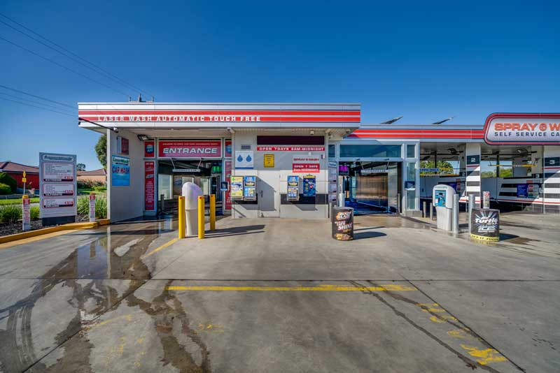 Automatic Carwash Cranbourne Spray and Wash