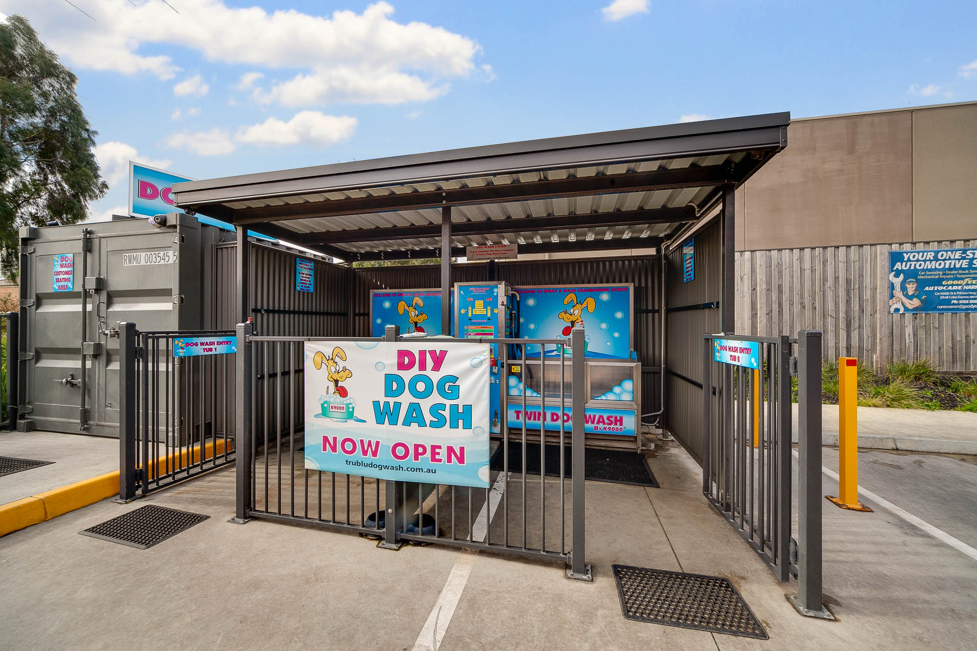 Cranbourne Dog Wash Spray and Wash